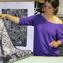 <p>Birgit Brandis, Preisträgerin Sechster Graphikpreis der Griffelkunst-Mitglieder</p>