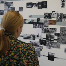 <p>Eröffnung der Ausstellung von Kai Schiemenz im Kunstraum Seilerstraße, Frühjahr 2012</p>