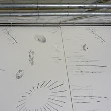 <p>Drucke von Anja Tchepets entstehen</p>